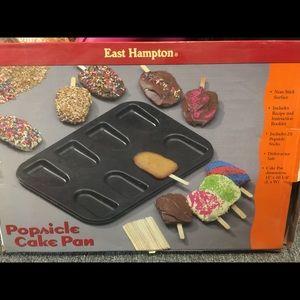 Popsicle cake pan